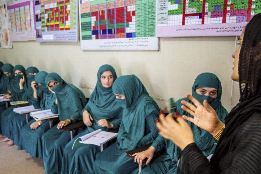 Nurses training in Jalalabad, Afghanistan